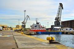 Ναυπηγείο Στοκ εικόνες με δικαίωμα ελεύθερης χρήσης