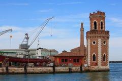 Ναυπηγείο, Arsenale στη Βενετία Στοκ Εικόνα