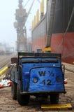 ναυπηγείο remontowa στιλβωτικής ουσίας Στοκ Φωτογραφία