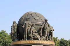 Ναυπηγοί και ναυτικό μνημείο διοικητών Στοκ Εικόνες