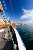 ναυσιπλοΐα βαρκών παραδ&omicr Στοκ Εικόνες