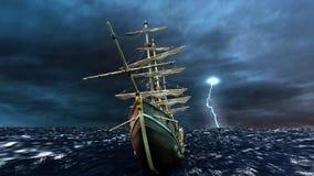 ναυσιπλοΐα βαρκών Διανυσματική απεικόνιση