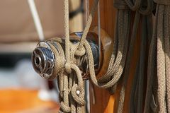 ναυσιπλοΐα βαρκών Στοκ Εικόνες