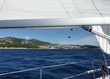 ναυσιπλοΐα της Κροατίας στοκ φωτογραφία με δικαίωμα ελεύθερης χρήσης