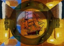 ναυσιπλοΐα Στοκ φωτογραφίες με δικαίωμα ελεύθερης χρήσης