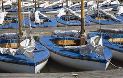 ναυσιπλοΐα 4 βαρκών Στοκ φωτογραφία με δικαίωμα ελεύθερης χρήσης