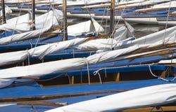 ναυσιπλοΐα 5 βαρκών Στοκ Εικόνες