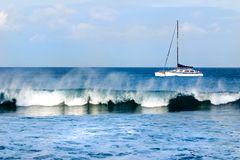 ναυσιπλοΐα Maui Στοκ Εικόνα