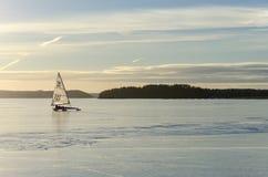 Ναυσιπλοΐα με τον πάγο Στοκ Εικόνες