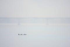 Ναυσιπλοΐα στον ποταμό Στοκ εικόνα με δικαίωμα ελεύθερης χρήσης