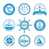 Ναυτικά διακριτικά Στοκ φωτογραφίες με δικαίωμα ελεύθερης χρήσης