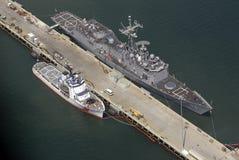 ναυτικά SAN σκάφη του Diego Στοκ Φωτογραφίες