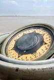 Ναυτική γυροσκοπική πυξίδα Στοκ φωτογραφία με δικαίωμα ελεύθερης χρήσης