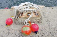 Ναυτική πρόσδεση στοκ εικόνες με δικαίωμα ελεύθερης χρήσης