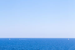 Ναυτικοί στη θάλασσα Στοκ φωτογραφία με δικαίωμα ελεύθερης χρήσης