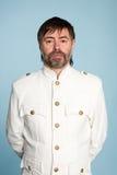 ναυτικός ανώτερος υπάλληλος ατόμων μορφής Στοκ φωτογραφία με δικαίωμα ελεύθερης χρήσης
