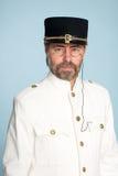 ναυτικός ανώτερος υπάλληλος ατόμων μορφής Στοκ Εικόνα