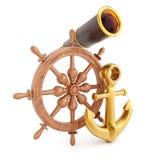 Ναυτικός εξοπλισμός διανυσματική απεικόνιση