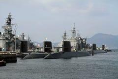 Ναυτικός λιμένας σε Kure στοκ φωτογραφία με δικαίωμα ελεύθερης χρήσης