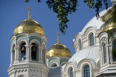 Ναυτικός καθεδρικός ναός Kronstadt Στοκ Φωτογραφία