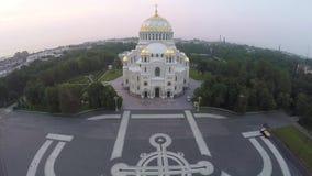 Ναυτικός καθεδρικός ναός Kronstadt φιλμ μικρού μήκους