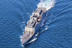 Ναυτικός καταστροφέας Στοκ Εικόνες