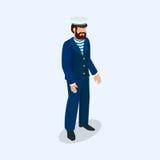 Ναυτικός, πυροσβέστης και γιατρός ως επαγγελματίες Στοκ φωτογραφίες με δικαίωμα ελεύθερης χρήσης