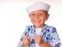 ναυτικός 21 αγοριών Στοκ Εικόνες