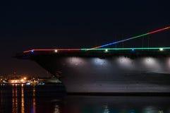 Ναυτικό αεροπλανοφόρο Στοκ Εικόνα