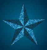 Ναυτικό αστέρι διανυσματική απεικόνιση