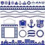 ναυτικό διακοσμήσεων Στοκ Εικόνα