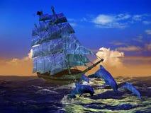ναυτικό ζωής διανυσματική απεικόνιση