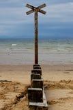 Ναυτικό διαγώνιο σήμα Στοκ εικόνα με δικαίωμα ελεύθερης χρήσης