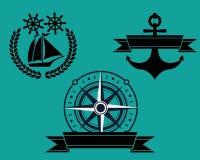 Ναυτικό διακριτικό Στοκ Φωτογραφία