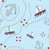 ναυτικό πρότυπο άνευ ραφής ελεύθερη απεικόνιση δικαιώματος