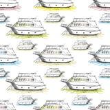 ναυτικό πρότυπο άνευ ραφής Στοκ φωτογραφία με δικαίωμα ελεύθερης χρήσης