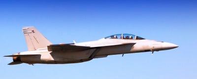 Ναυτικό φ-18 έξοχο Hornet Στοκ εικόνα με δικαίωμα ελεύθερης χρήσης
