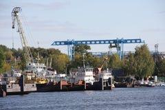 ναυτιλία βιομηχανίας Στοκ φωτογραφίες με δικαίωμα ελεύθερης χρήσης