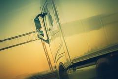 Ναυτιλία φορτίου φορτηγών στοκ φωτογραφίες