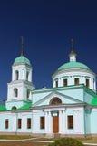 Ναός Άγιου Βασίλη Wonderworker Χωριό ρωσικό Nikolskoye, Ταταρία Στοκ Φωτογραφία