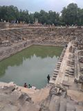 Ναός ήλιων σε Modhera Gujarat στοκ φωτογραφία