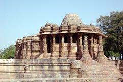 ναός ήλιων modhera στοκ φωτογραφίες