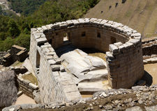 ναός ήλιων picchu machu στοκ εικόνα