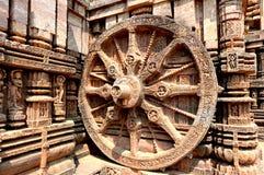 Ναός ήλιων κοντά σε Puri, Ινδία στοκ εικόνα με δικαίωμα ελεύθερης χρήσης