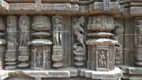 Ναός ήλιων Konark - αρχιτεκτονική ομορφιά της Ινδίας Στοκ φωτογραφίες με δικαίωμα ελεύθερης χρήσης