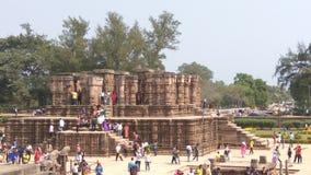 Ναός ήλιων Konark - αρχιτεκτονική ομορφιά της Ινδίας στοκ φωτογραφία