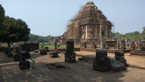 Ναός ήλιων Konark - αρχιτεκτονική ομορφιά της Ινδίας στοκ φωτογραφίες