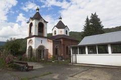 Ναός Αγίου George στο χωριό Lesnoye, περιοχή Krasnodar περιοχής Adlersky στοκ εικόνες