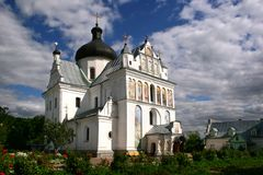 Ναός Αγίου Nikolay στο μπαρόκ ύφος, ο 17ος αιώνας στοκ εικόνα
