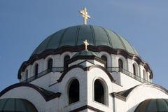 Ναός Αγίου Sava Στοκ εικόνες με δικαίωμα ελεύθερης χρήσης